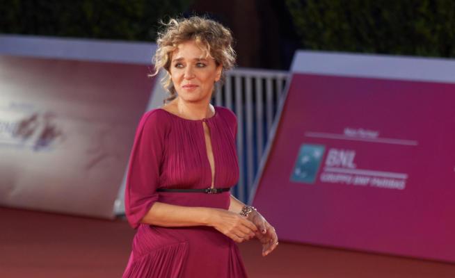 RomaCinemaFest: Valeria Golino sul red carpet di Fortuna