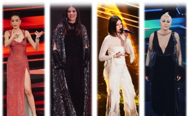 Sanremo 2021, i look della seconda serata